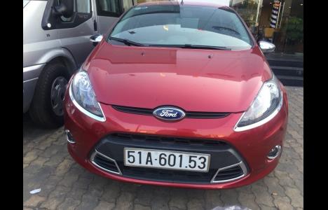 Ford Fiesta 2013 Màu Đỏ