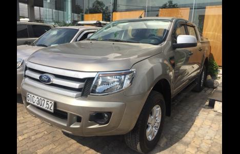 Ford Ranger 2013 ghi vàng